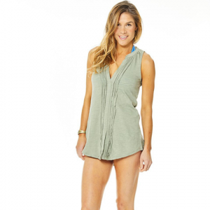 Carve Designs Middleton Tunic - Womens Sunkiss