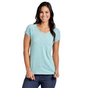 Toad & Co Bonita SS Tee - Women's Spiced Coral