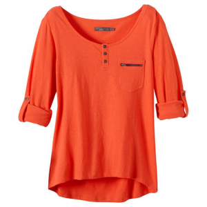 Prana Jess Top - Womens Neon Orange