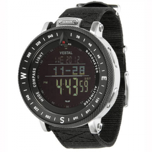 Vestal The Guide Watch Black/silver One Size