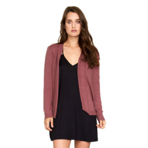 RVCA Sayso Cardigan - Women's Rosewood