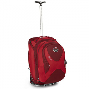"Osprey Ozone Convertible 22"" Travel Bag Hoodoo Red 50l"