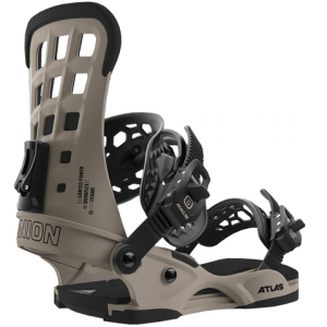 Union Atlas Snowboard Bindings Matte White Lg
