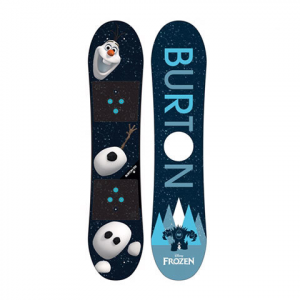 Burton Frozen Olaf Snowboard - Youth Graphic 100 100