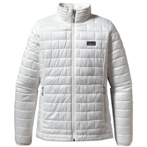 Patagonia Nano Puff Jacket - Women's Birch White Lg