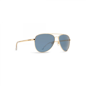 Von Zipper Farva Sunglasses Gold Gloss/navy Chrome