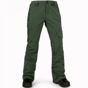 Volcom Plateau Pants - Women's Expedition Green Lg