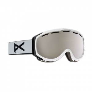 Image of Anon Hawkeye Goggle White/silver Amber Na
