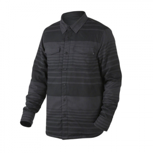 Oakley Factory Pilot Flannel Hybrid Jacket Jet Black Md