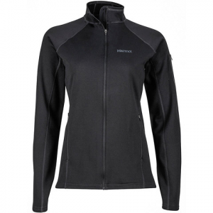 Marmot Stretch Fleece Jacket - Women's Black