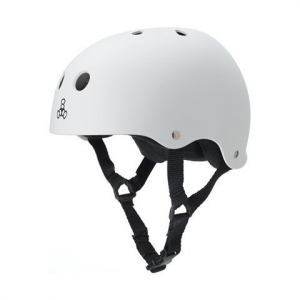 Image of Triple Eight Brainsaver With Standard Liner White Rubber Xl