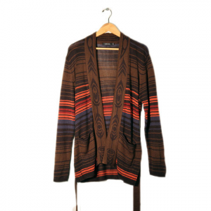 Obey Slowdive Cardigan - Women's Brown Multi