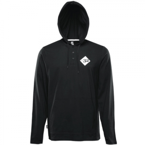 Thirtytwo Numero LS Hooded Tee Black Xl