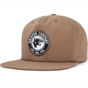 Brixton Legion HP Snapback Hat Copper O/s