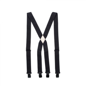 Image of Arcade The Jessup Suspenders Black/red One Size