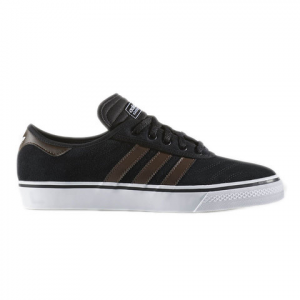 Image of Adidas Adi-Ease Premiere Shoes Cblack/brown/ftwwht 10.0