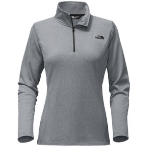 The North Face Tech Glacier 1/4 Zip - Women's Metallic Silver