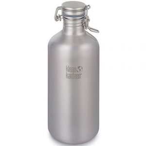Klean Kanteen Growler 64 oz Brushed Stainless 64oz