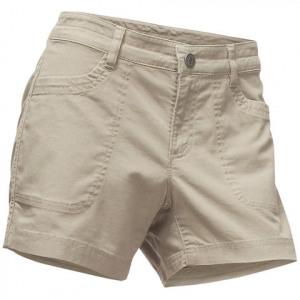 The North Face Boulder Stretch Shorts - Women's Granite Bluff Tan 2