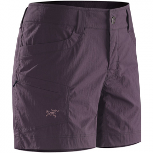 Arc'teryx Parapet Shorts - Womens Black 6