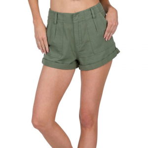 Volcom Dittybopper Short - Women's  Army Green Combo Sm