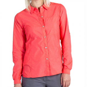 Exofficio Lightscape Long Sleeve Shirt Hot Coral