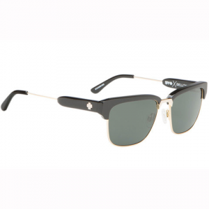 Spy Bellows Sunglasses Black/gold/happy Gry Green