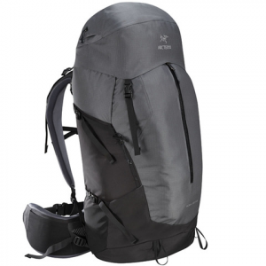 Image of Arc'teryx Bora AR 63 Backpack - Men's Titanium Tall