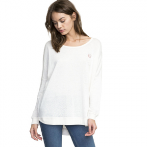 RVCA Have A Nice Day Lightweight Pullover - Women's Vwt