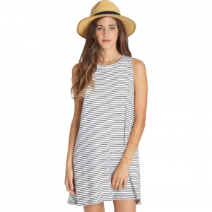 Billabong By And By Dress - Women's Black/white