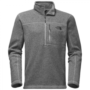 The North Face Gordon Lyons 1/4 Zip - Mens Tnf Medium Grey Heather Lg