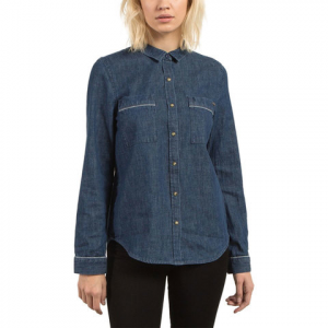 Volcom Cham Jam LS Shirt - Women's Deep Water