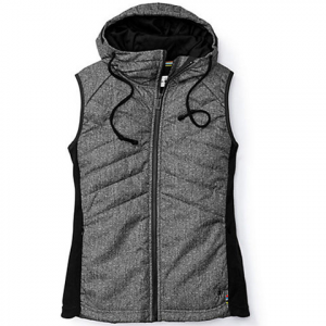 Smartwool Double Propulsion 60 Printed Hooded Vest - Women's Black
