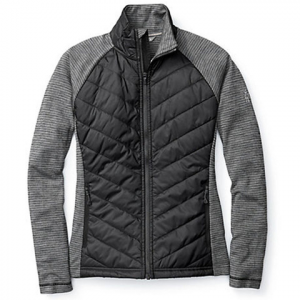 Smartwool Propulsion 60 Jacket - Women's Lt Grey/black M
