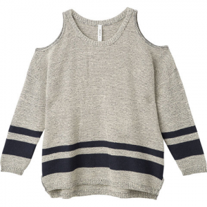 RVCA Marked Sweater - Women's Heather Grey