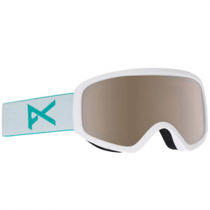 Image of Anon Insight Goggles - Women's White/silver Amber N/a