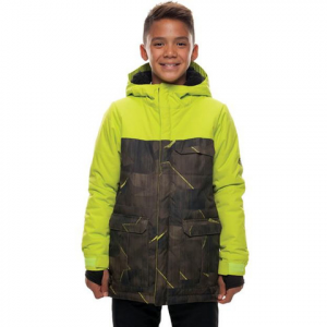 Image of 686 Boy's Backwoods Insulated Jacket - Kid's Lime Metric Camo Xl