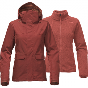 The North Face Helata Triclimate Jacket - Women's Ketchup Red