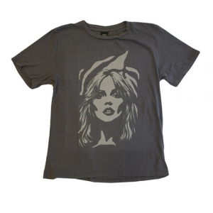 Obey Debbie Zebra Portrait Vintage Lester Tee - Women's Faded Black