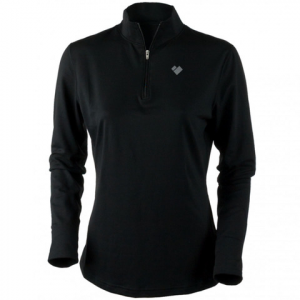 Obermeyer Ultrastretch Zip Top - Women's Black