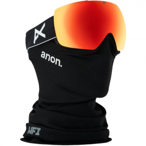 Image of Anon Mig MFI Goggle Black/sonarred N/a
