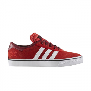 Image of Adidas Adiease X Bonethrower Red/ftwwht/cburg 12.0