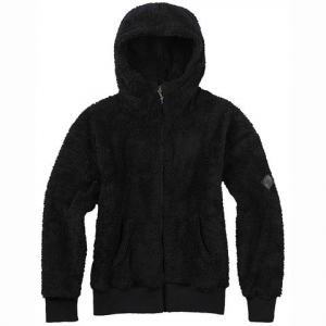 Burton Lynx Fleece Full Zip - Women's True Black S