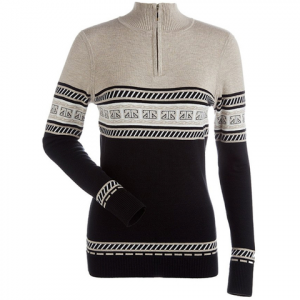 NILS Terri Sweater - Women's Black/champagne/white