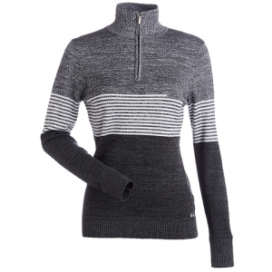 Nils Riley Sweater - Women's Black/charcoal/white