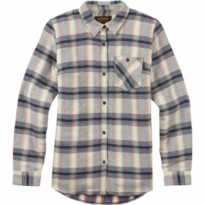 Burton Grace Sherpa Flannel - Women's Canvas Gradient Pld M