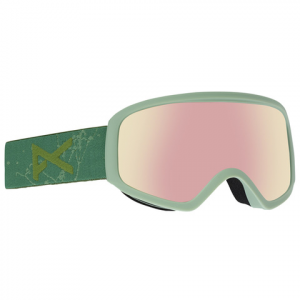 Image of Anon Insight AF Goggles Fern Grn/red Ice N/a