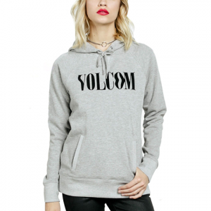 Volcom Gettin Shacked Hoodie - Women's Heather Grey