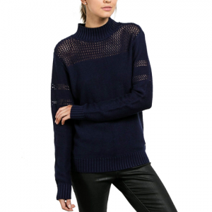 Volcom Peepin On Sweater - Women's Midnight Blue