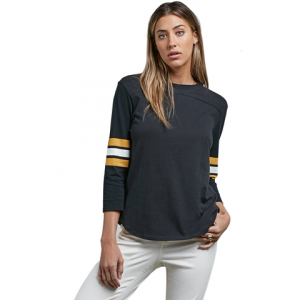 Volcom Outta Here Long Sleeve Tee - Women's Black